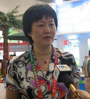 海南旅游委副主任孙颖接受采访