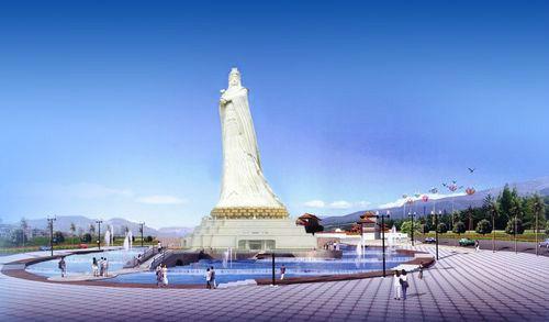 台湾风情小镇妈祖文化广场
