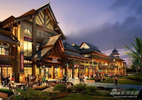 多彩东南亚建筑 成就独特地域景观   东南亚是亚洲纬度最低的地区,东南亚风格建筑、园林景观和家居在华南地区很受青睐,有大行其道之势,究其原因,可能与其崇尚自然、健康、休闲的特质,风土人情与周边环境的融为一体,以及浓郁、绮丽、浪漫等各种充满想象力的混搭,有着密不可分的联系。碧桂园椰城的建筑继承了自然,健康和休闲的特质,大到空间打造,小到细节装饰,都体现了对自然的尊重,和对手工艺制作的崇尚。东南亚园区对建筑材料的 使用也很有代表性,如黄木,青石板,鹅卵石,麻石等,旨在接近真正的大自然。碧桂园椰城双拼别墅建