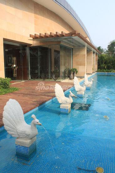 首府社区售楼处东南亚景观-200米地标性建筑 精致东南亚风格园林